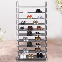 Homdox Home Portable 5/8/10 Tier Shoes Rack Stand Shelf Shoes Organizer Storage Furnit