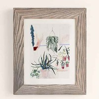 Alicia Galer Potted Garden Art Print