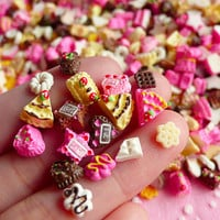 Tiny Miniature Sweets Cabochon Mix for NAIL ART by MiniatureSweet