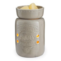 Jewelry Tart Warmer - Faith, Family, Friends