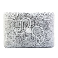 MacBook Air 13 Case, GMYLE Hard Case Print Glossy for MacBook Air 13 (Model: A1369 and A1466) - Paisley Pattern Glossy Hard Shell Case Cover (Not fit for MacBook Pro 13 Retina)