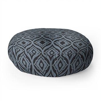 Heather Dutton Trevino Dusk Floor Pillow Round