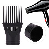 Professional Hairdressing Salon Comb Straightening Tool for Blow Dryer