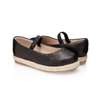 Carmen Wedge Jet Black for Girls