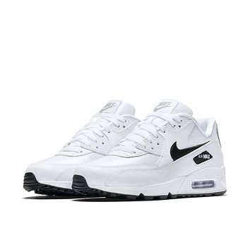 NIKE-Men Women Camouflage Sports Shoes Cushioned Chunky Sole Lace Up Sports Shoes Outdoor AIR MAX 90