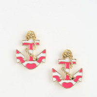 Nautical Anchor Earring