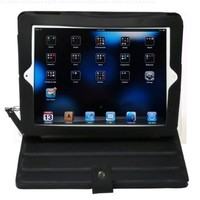 GSI Super Quality Juice Book For Apple iPad 3G/Wifi Tablet Reader - Custom Elegant Case With Power Tube 4400mAh Backup iPad/iPhone Battery And Smart Stand - For Travel Or Home Use- Chocolate
