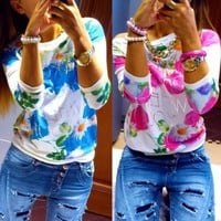 Women's Blouses Sleeve Pullover Look