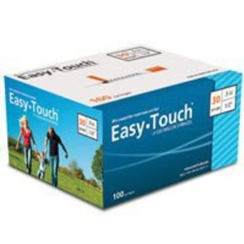 "Insulin Grade 30g 1cc 1/2"" box of 100 Easy Touch 