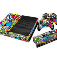 Bomb Full body Skin Sticker Protector For Microsoft Xbox one Console Controller Decorate Video Game Accessories
