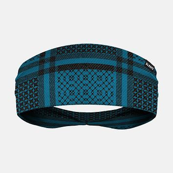 Shemagh Backpack Blue Headband