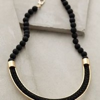 Umbra Matte Necklace by Anthropologie Black One Size Necklaces