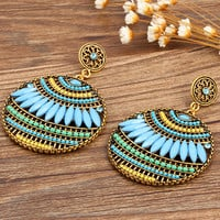 Colorful Ethnic Bohemian Earrings