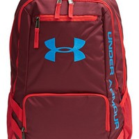 Boy's Under Armour 'Hustle' Print Backpack