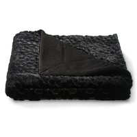 Aeropostale Faux Fur Throw Blanket -