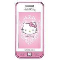 Samsung - S5230 Hello Kitty Pink Unlocked GSM QuadBand Cell Phone