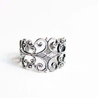 Supermarket: Silver Filigree Ring from Diament Jewelry