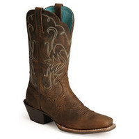 Sheplers: Ariat Saddle Vamp Legend Riding Cowgirl Boots - Square Toe
