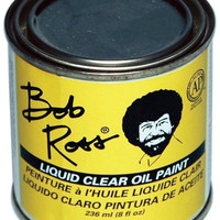 Bob Ross Oil Paint 236ml-Clear