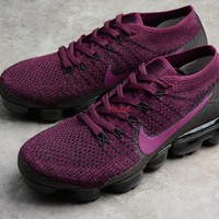 Nike Air VaporMax Flyknit Berry Purple 849557 605 189 Women