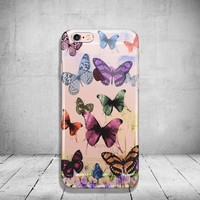 iPhone 6 Case Butterfly Soft Clear iPhone 6s Case Clear iPhone 6 Case iPhone 5s Case iPhone 6s Plus Case Soft Silicone iPhone Case