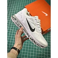 Nike Air Max 2019 Simple White Sport Running Shoes