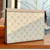 Kuyou Lv Louis Vuitton Fashion Women Men Gb19530 White M61692 Pochette Voyage Mm 27 X 21 X 3cm