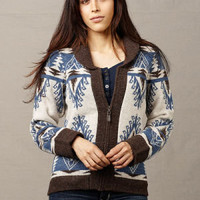 Womens Wool Cardigan Sweaters, Timber Lodge Sweater by Pendleton ®