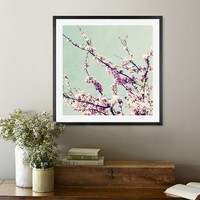 TOUCH OF SPRING FRAMED PRINT BY LUPEN GRAINNE