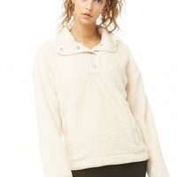 Faux Shearling Pullover