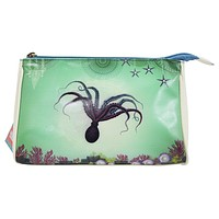 Ocean Dream Mystic Octopus Deep Sea Paradise Art Makeup Pouch