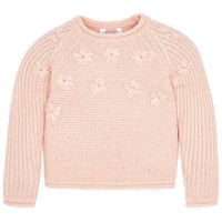 Mayoral Girls' Pink Knit Sweater Top
