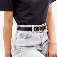 ASOS Double Circle Waist & Hip Belt at asos.com