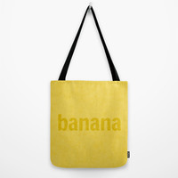 Banana Tote Bag by RBWPictures