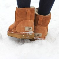 UGG Women Male Fashion Wool Snow Boots Warm shoes Sapphire blue Shoes-1