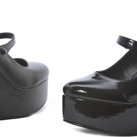 Wedge (Black) Adult Shoes