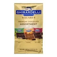 Ghirardelli Chocolate Squares Premium Assortment, 4.85 OZ - Walmart.com