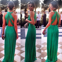 Women Long Formal Prom Dress Cocktail Party Ball Gown Evening Bridesmaid Dress = 1946467268