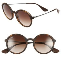 Women's Ray-Ban 50mm Round Sunglasses