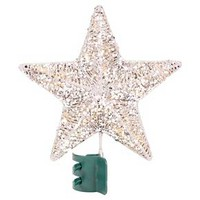 Lit LED Wrapped Star Tree Topper (Assorted Styles) - Wondershop™