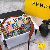 Fendi 2020 New Vintage Vintage Presbyopic F Middle-aged French bag
