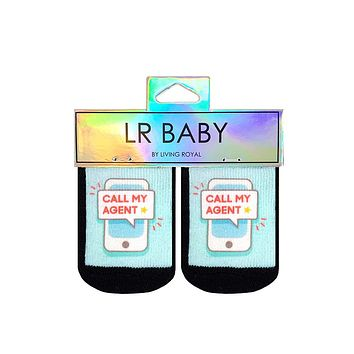 Call My Agent Baby Socks