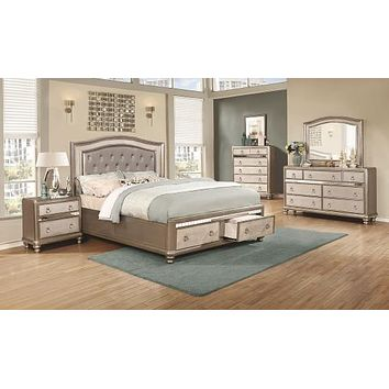 G204180 - Bling Game Storage Bedroom Set