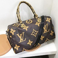 LV Louis Vuitton Fashion Women Men Luggage Travel Bags Tote Handbag Satchel Crossbody Coffee