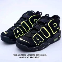 Nike Air More Uptempo Air Cushion Sports Running Shoes