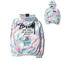Ice-cream Windbreaker Couple Rashguard Jovial [8189357702]