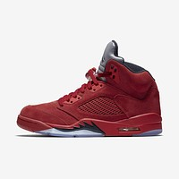 Best DealNike AIR JORDAN 5 RETRO Raging Bulls College Red Black 136027-602