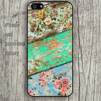 Retro wooden pattern iphone 6 6 plus iPhone 5 5S 5C case Samsung S3,S4,S5 case Ipod Silicone plastic Phone cover Waterproof