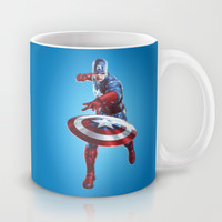 CAPTAIN AMERICA Mug by Hands In The Sky