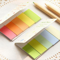 DIY Cute Kawaii Colorful Paper Memo pad Sticky Paper Post it Note School Supplies Korean Stationery Free shipping 248